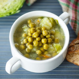 Slow Cooker Lentil and Cabbage Soup.
