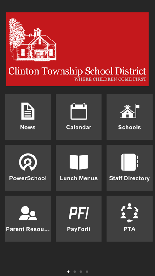Clinton Township SD- screenshot