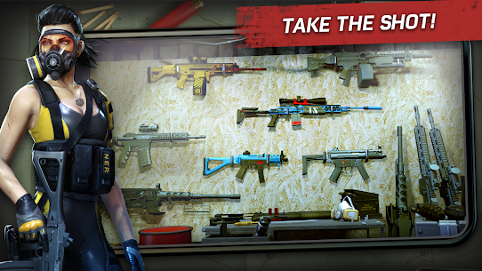 Left to Survive: PvP Zombie Shooter Mod 3.8.1 Apk [Unlimited Equipment + Burst without Shuffle Switch] 5