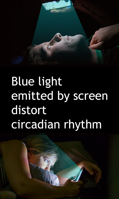 Bluelight Filter - get good slep, night mode- screenshot