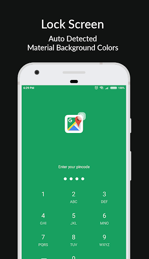Materiale Applock - Blocca schermate App, PIN e Pattern Lock 7