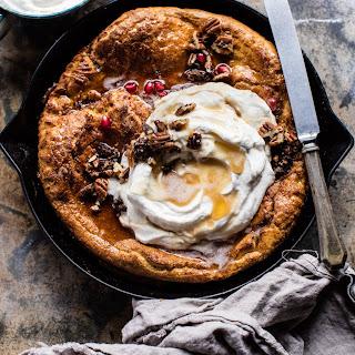 Sweet Potato Pie Dutch Baby.