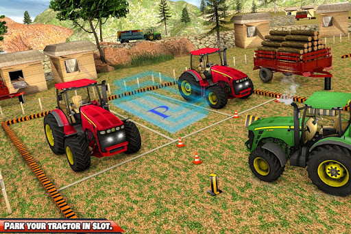 Offroad 3D Tractor Parking Games apklade screenshots 2