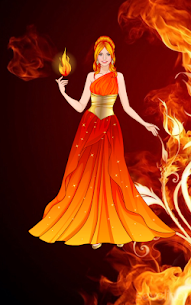 Element Princess dress up game 5