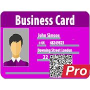 Pro vCard, MeCard, BizCard QR: Créer, générer