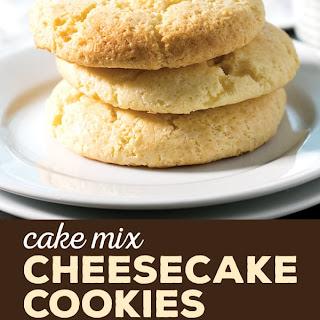 Easy Cheesecake Cookies.