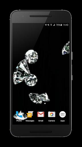 Diamonds Video Live Wallpaper