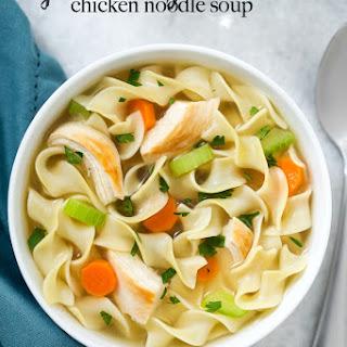 Gluten Free Slow Cooker Chicken Noodle Soup