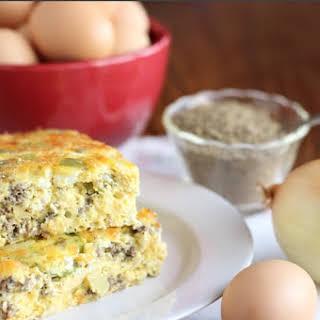 Grain-Free Egg Bake.