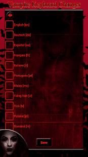 Vampire Keyboard Changer - náhled