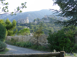 Photo: Our final stop in the Luberon is the restoration-in-progress village of Oppède-le-Vieux.