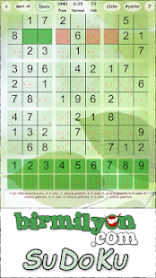 SuDoKu Birmilyon- screenshot thumbnail