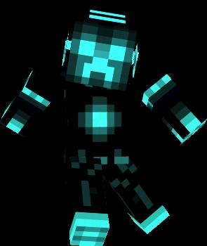 Tron Creeper Nova Skin
