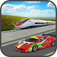 Train vs Car : Super Racing