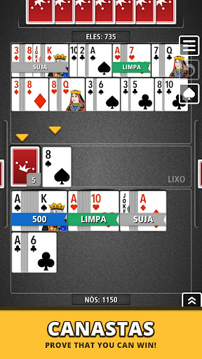 Buraco Canasta Jogatina: Card Games For Free apkpoly screenshots 7