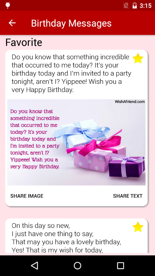 Birthday Cards Messages Wish Friends Family Android Apps – Things to Say on Birthday Cards
