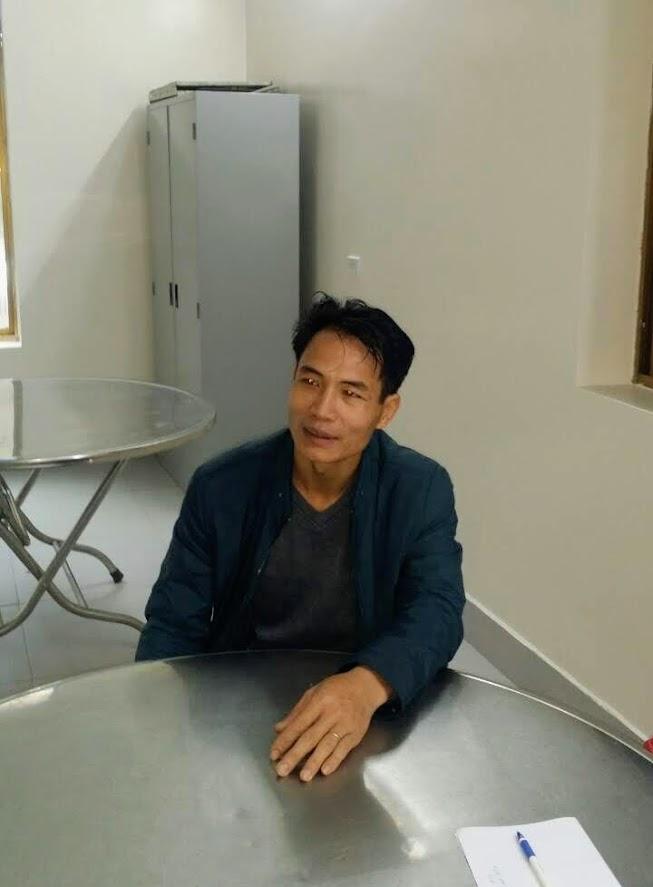 Thiếu tá Vũ Võ Văn Tuấn kể lại sự việc