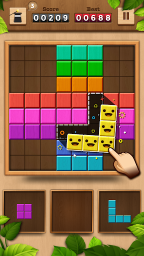 Wood Color Block: Puzzle Game 1.1.2 screenshots 1