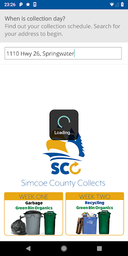 Simcoe County Collects screenshots 2