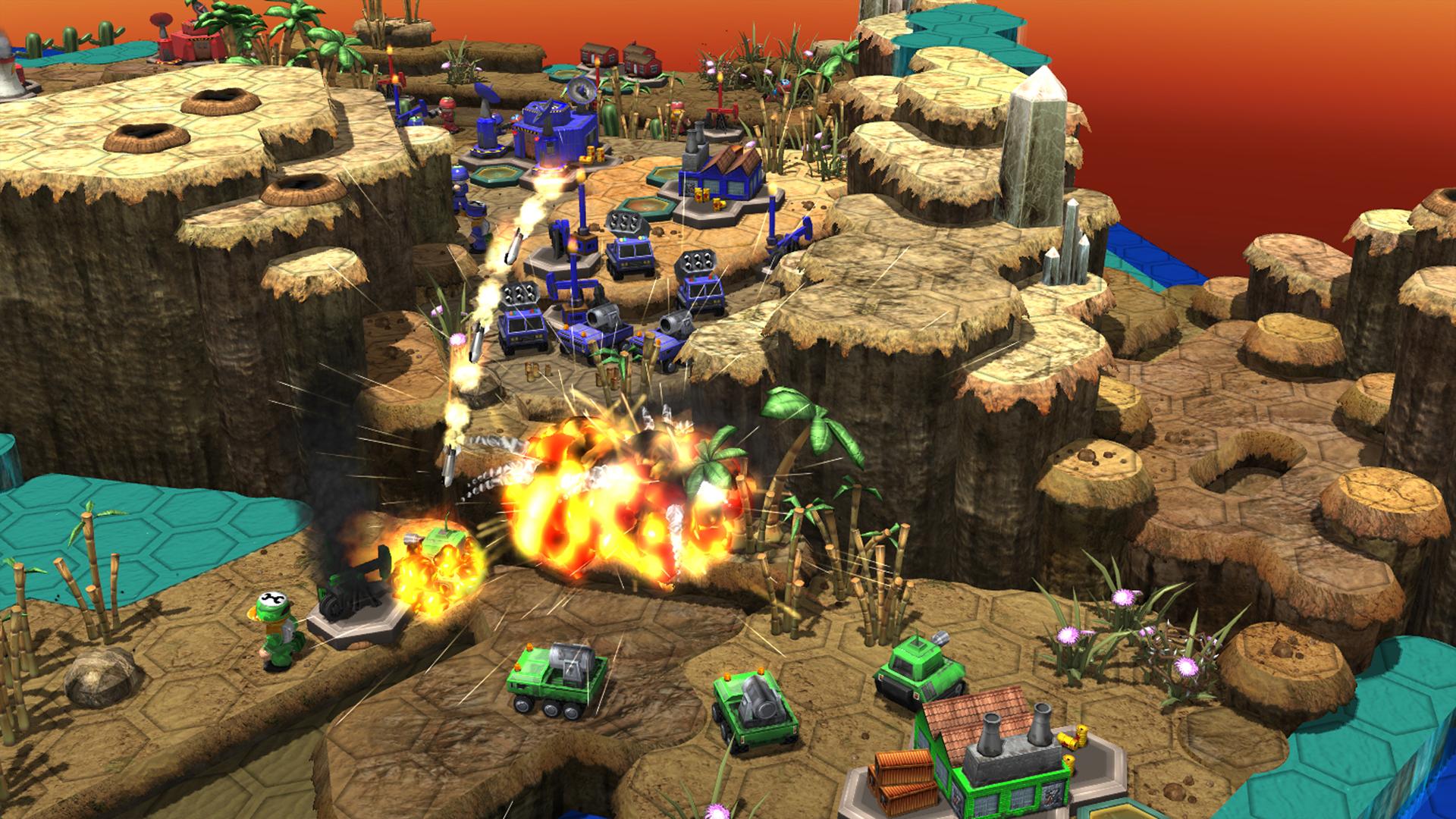 Epic Little War Game screenshot #4