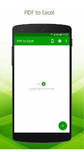 PDF to Excel – PDF File Converter with OCR 1