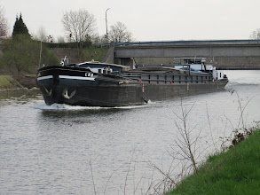 Photo: Day 9 - Traffic on the Industrial Canal