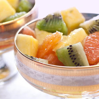 Zesty Lime and Ginger Winter Fruit Salad