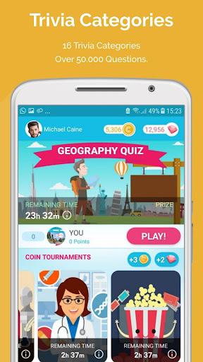 QUIZ REWARDS: Trivia Game, Free Gift Cards Voucher ss3