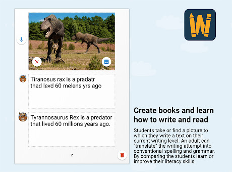 WriteReader - Turn your students into authors