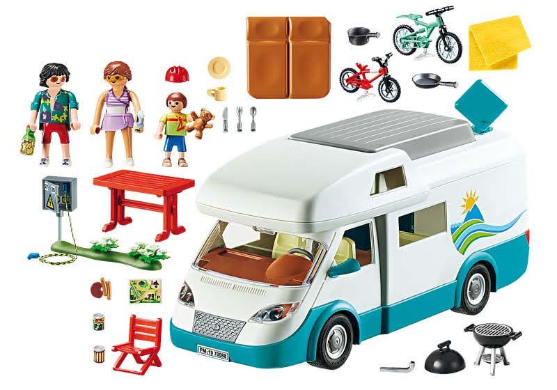 Contenido real de Playmobil® 70088 Caravana de Verano