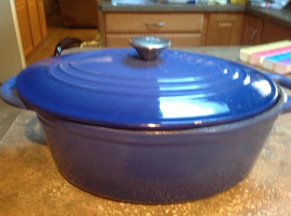 Cover with lid and place in preheated 350 DEGREES F.  oven and cook...