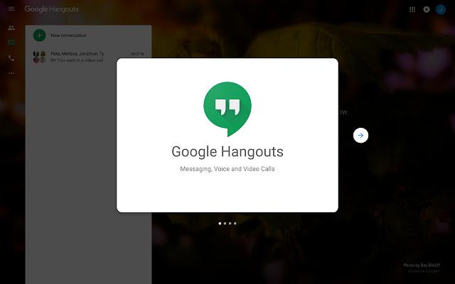 Google Hangouts Chat Purge