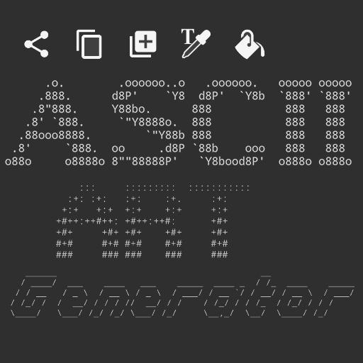 Text ASCII Art Generator