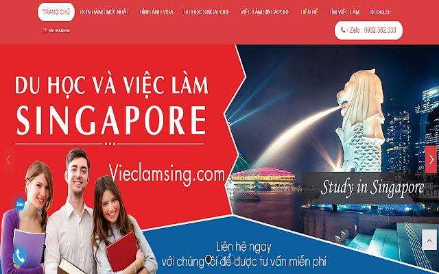 Du học singapore - Vieclamsing.com