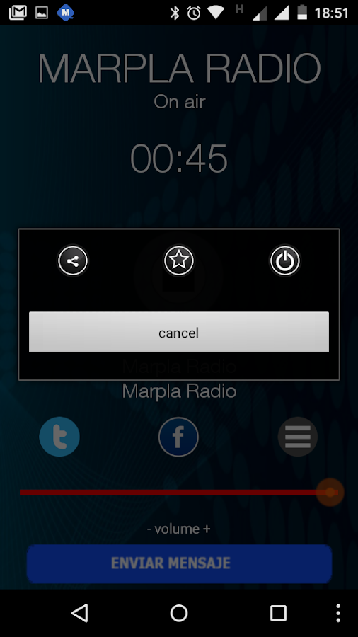 Marpla Radio- screenshot