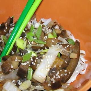 Sichuan Eggplant Wheat Noodles