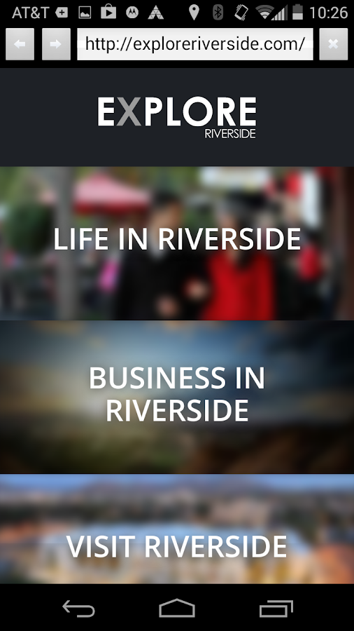 Explore Riverside- screenshot