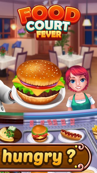 Food Court Fever: Hamburger 3 v2.4.4 [Mod]