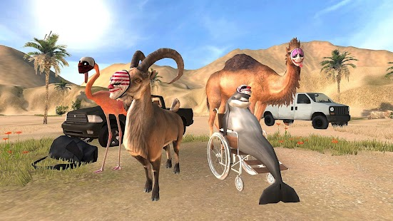 Goat Simulator Payday Screenshot