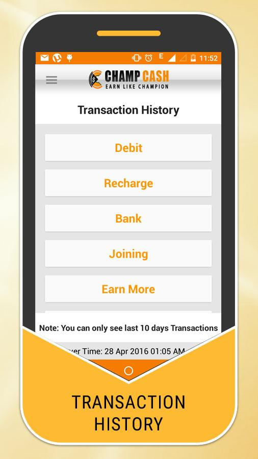 Champcash Money Free- screenshot