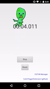 Sample Stopwatch for CUT-IN- screenshot thumbnail