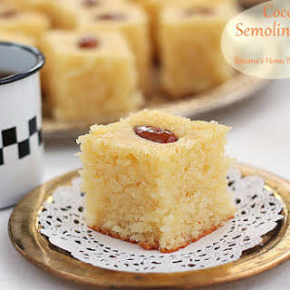 Semolina And Coconut Cake Recipes.