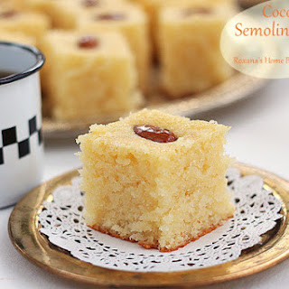 Semolina Coconut Cake.