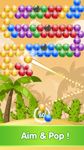 Bubble Shooter - Dragon Rescue Game 1.0.9 screenshots 2