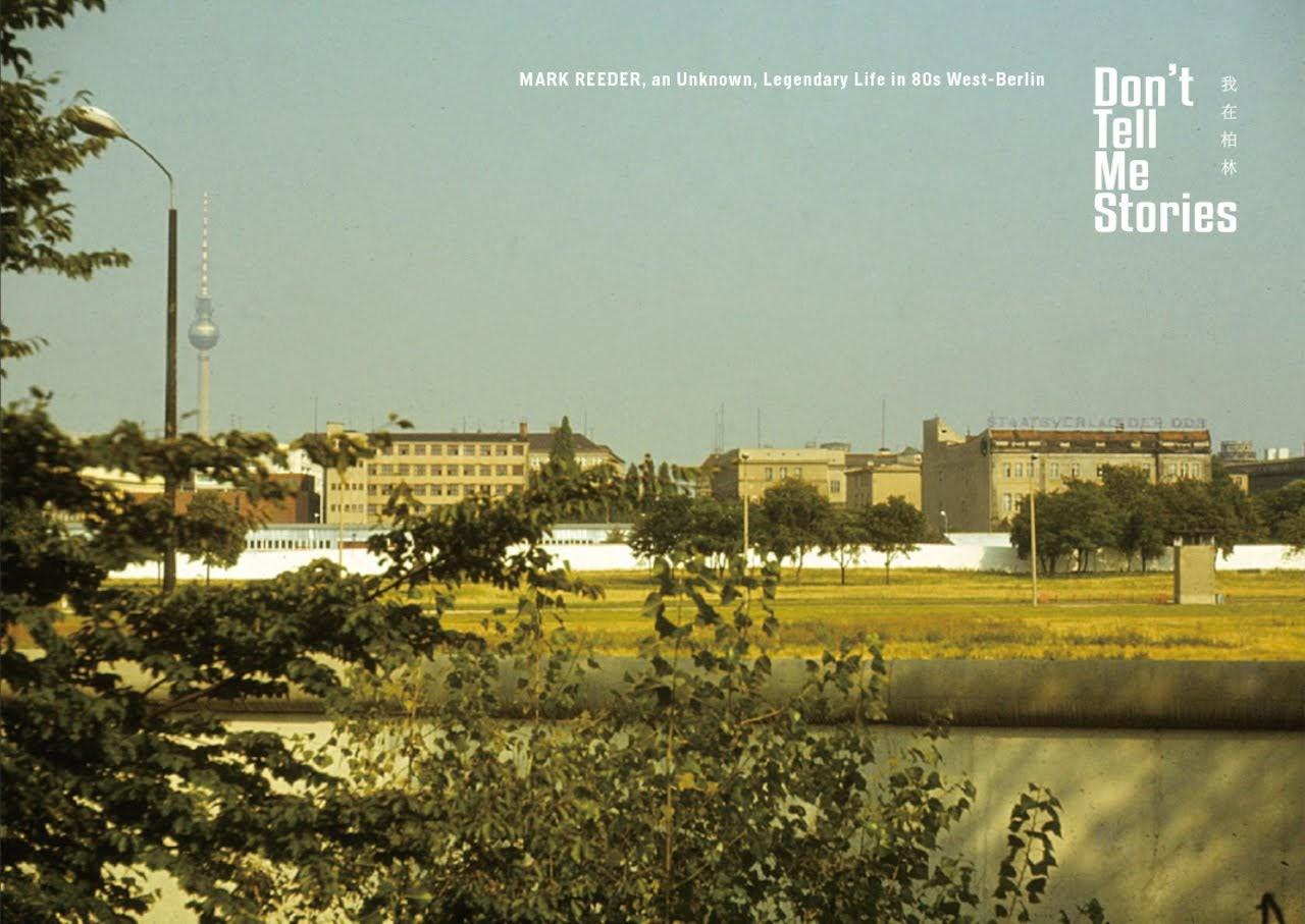 [迷迷音樂] 傳奇音樂人Mark Reeder 《我在柏林 - 音樂教父 ⾺克雷德 柏林攝影文件展》