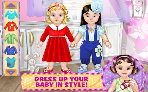 Black and white dolly dress up game