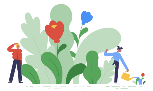 Flowers and gardening.