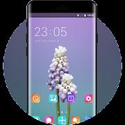 Theme for bellflower light purple wallpaper icon