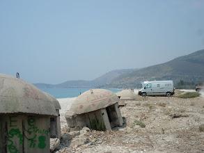 Photo: Borsh Encore une plage de la riviera