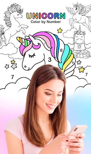 Unicorn Color by Number – Unicorn Coloring Book 1.0.11 screenshots 1
